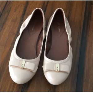 Cole Haan ballet flats with bow size 7b